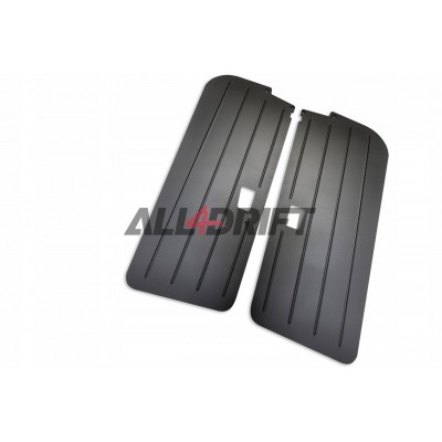Aluminum racing door panels BMW E36 coupe - front + rear