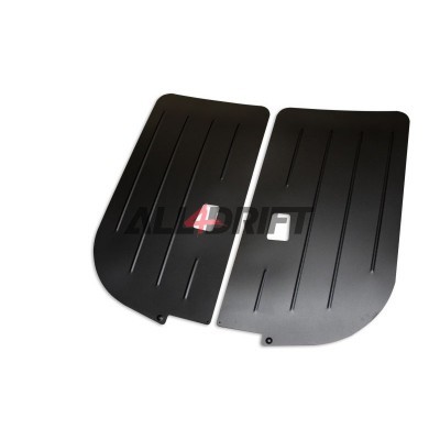 Aluminum racing door panels  BMW E36 sedan - front