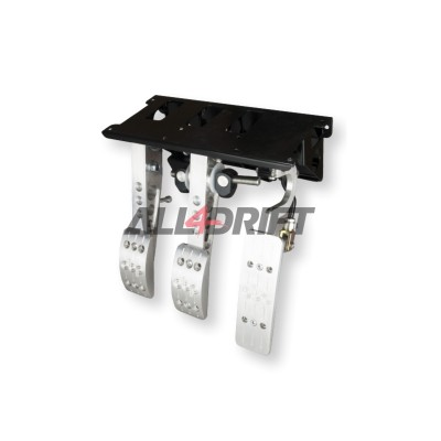 OBP PRO RACE V2 pedal box with upper attachment - cylinder at the rear
