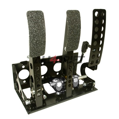 OBP VICTORY pedal box with roller cylinder at the rear