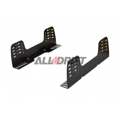 Universal aluminium side mount for racing seats - reinforced