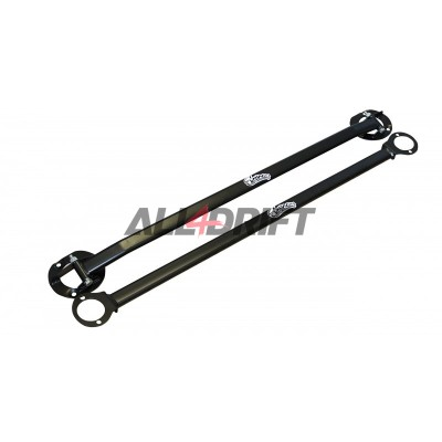 Strut bars BMW E46 - upper, front + rear