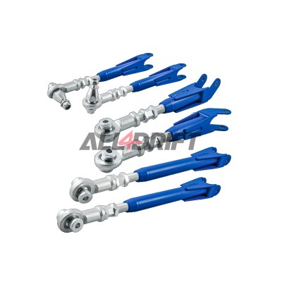 Set of adjustable rear arms for Nissan 350Z