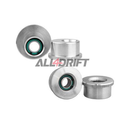 Aluminium front lower wishbone bushes BMW E30 E36 Uniball
