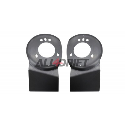 Front shock absorber mount plates for BMW E46