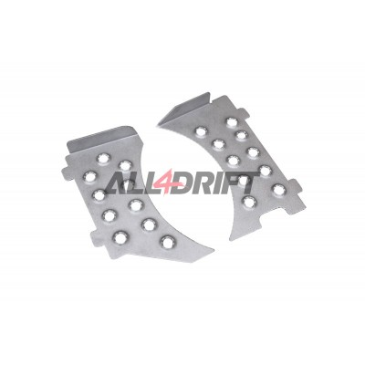 Front shock absorber mount plates for BMW E46 V2