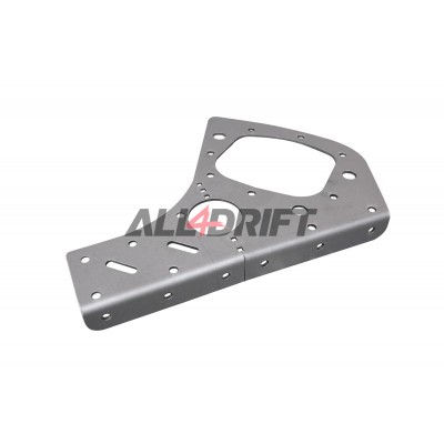 Rear Trailing Arm Plates  BMW E46  V2 PRO
