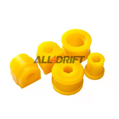 Front suspension polyurethane bush kit SPORT BMW E46