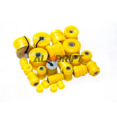 Rear suspension polyurethane bush kit SPORT BMW E46