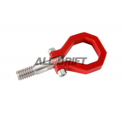 Towing hook BMW E36 / E46 red