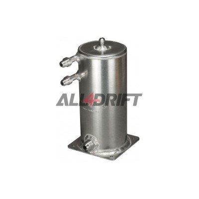 OBP Fuel swirl pot + JIC fittings