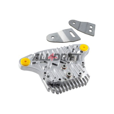 Aluminum differential cover for BMW E30 with dual mounting Type 188